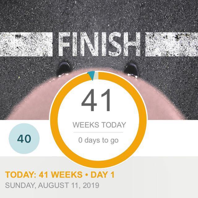 hello 41 weeks…